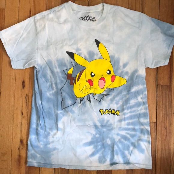 08d2114f0 ... pokemon shirts 4 for 12 gently worn pikachu shirt m poshmark; pokemon  anime tshirt ...